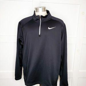 Nike Big & Tall Black Quarter Zip Pullover XXL